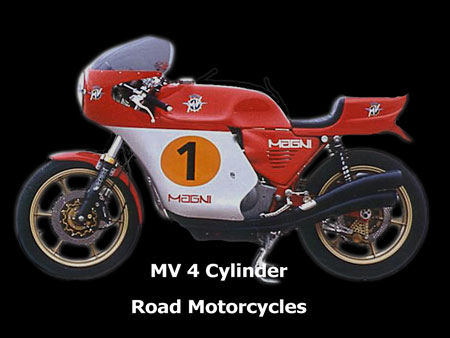 MV Agusta 4cylinder road motorcycles