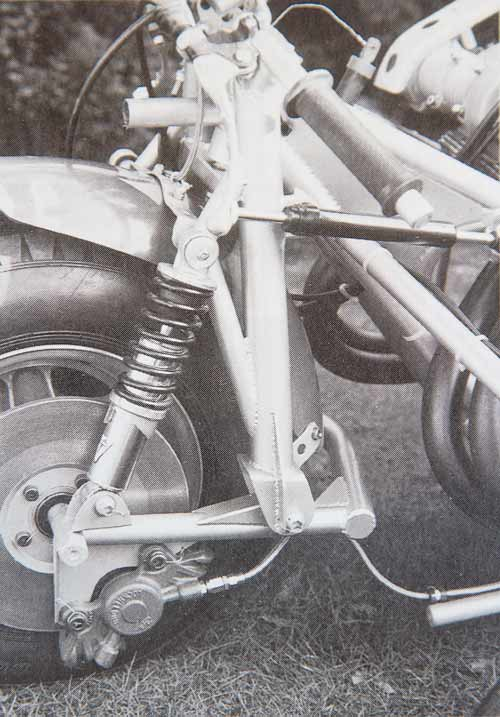 The sidecar frame