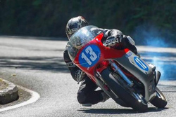 Lee Johnston wins the IOM Classic TT in 2014