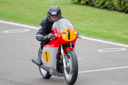 Alan Oversby at Goodwood 2013
