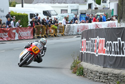 Dean Harrison wins the 2015 Classic TT 500